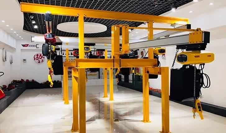[Focus on Canton Fair] Jinteng electric hoist attracts attention